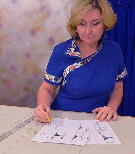 Уроки шитья с Илоной Пузене