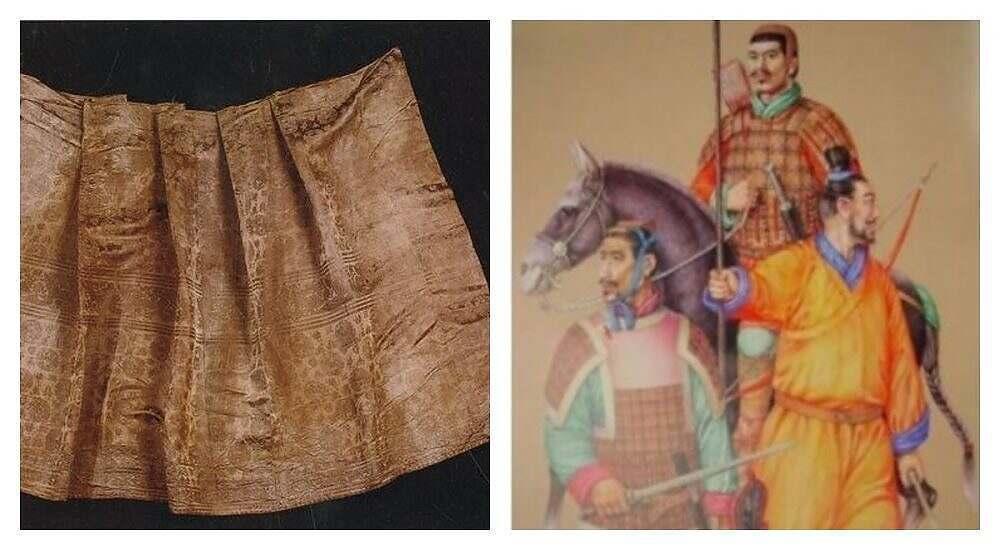 Клетка в одежде Древнего Китая | Мастерская Илоны Пузене