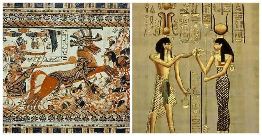 Ткань в клетку в Египте | мастерская Илоны Пузене