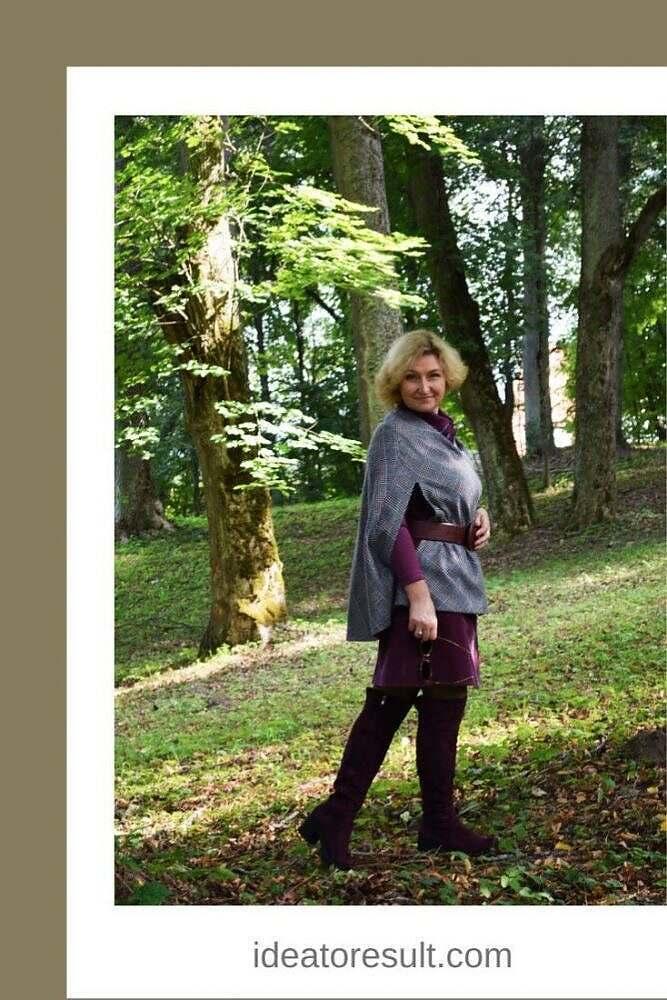 Пальто накидка | авторская коллекция Илоны Пузене
