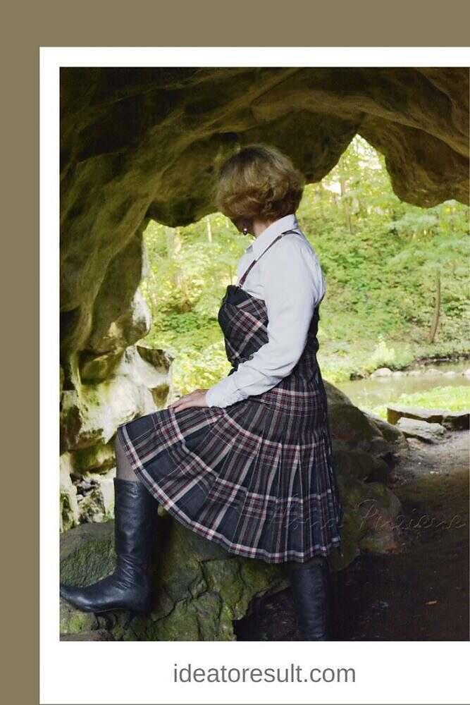 Шотландская клетка | авторская коллекция Илоны Пузене