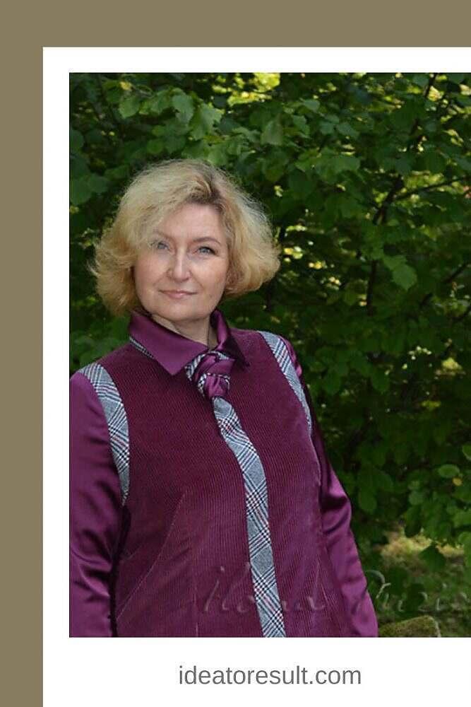 Женский галстук | авторская коллекция Илоны Пузене