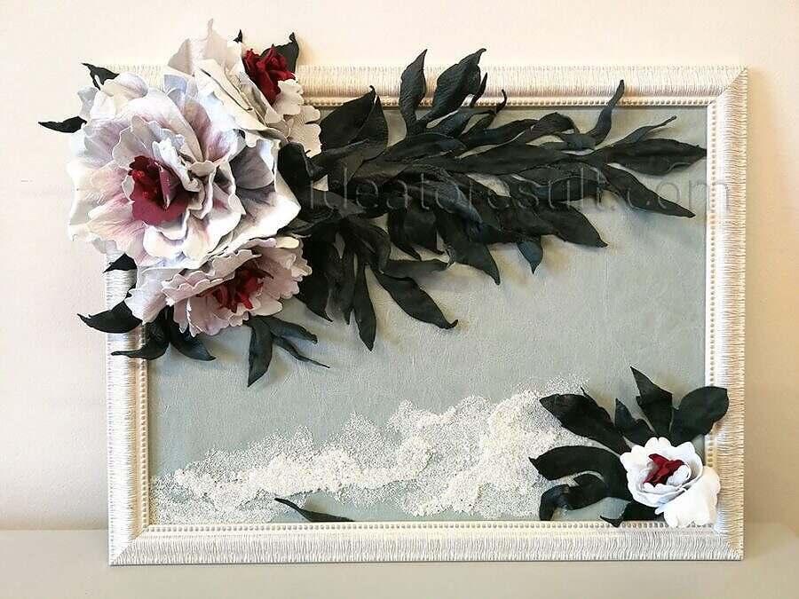 Картины из кожи   мастер-класс с Илоной Пузене
