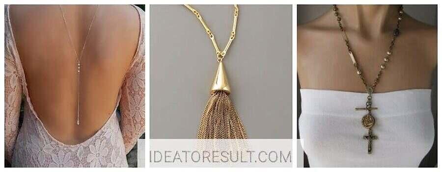 Примеры украшений на шею с цепями | Мастерская IdeaToResult